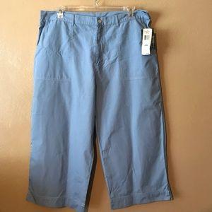 Ralph Lauren light blue capris size 20W, Cotton